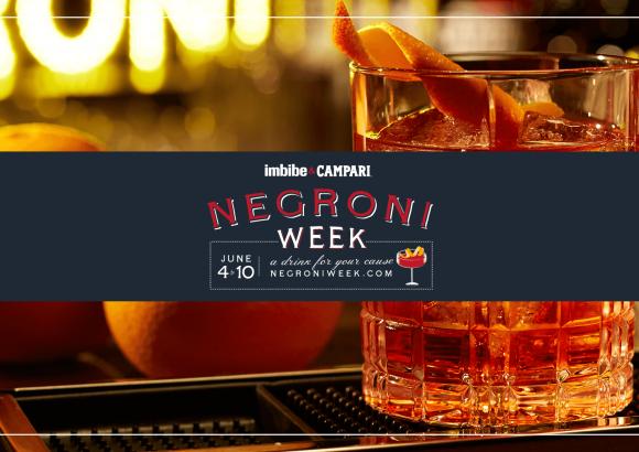 Campari Negroni Week 2018