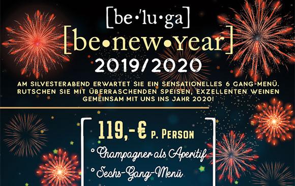 Sylvester 2019/2020 im be-lucca feiern!